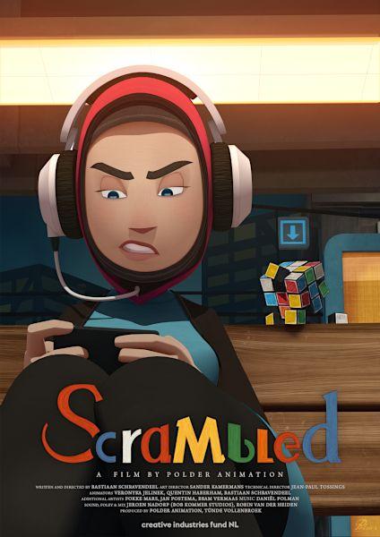 Scrambled – posterItem